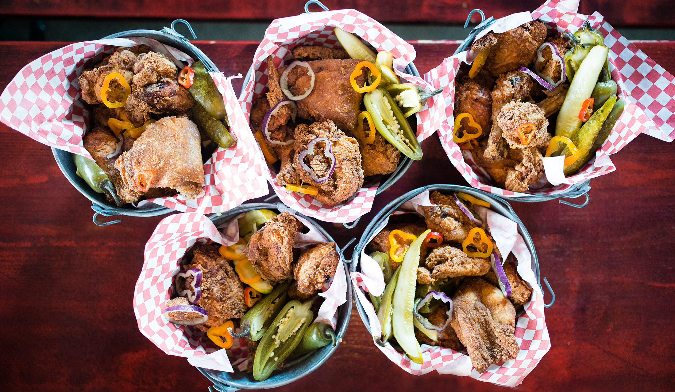 Fried Chicken Buckets