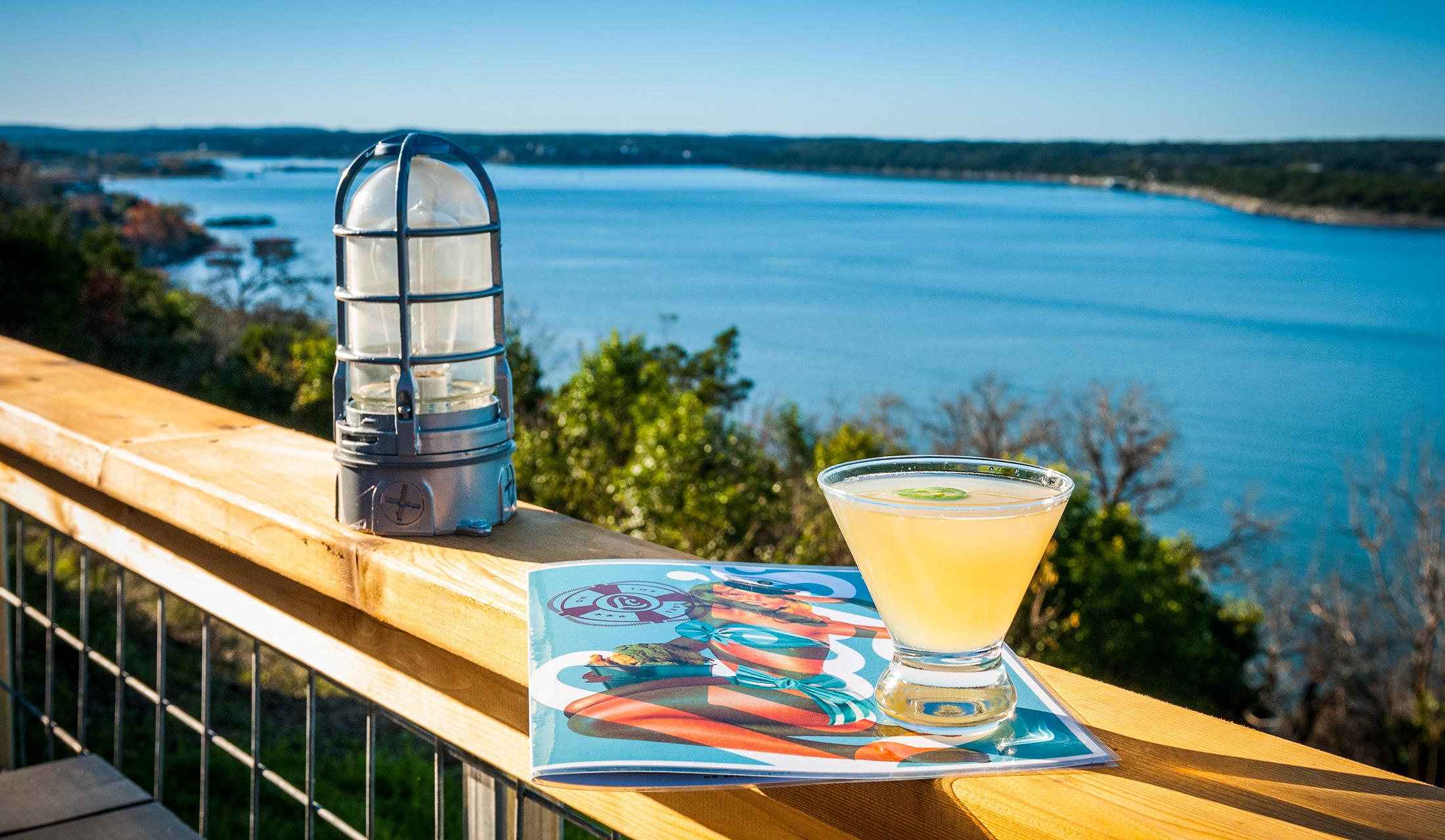 Lake cocktail